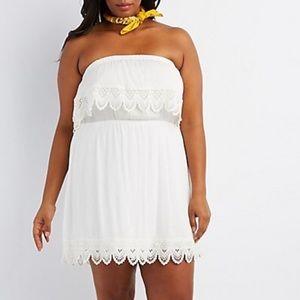 Dresses & Skirts - ❗️2X left ❗️Beautiful plus size off white dress