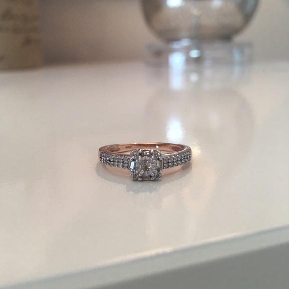 Kay Jewelers Jewelry Rose Gold Diamond Ring Poshmark