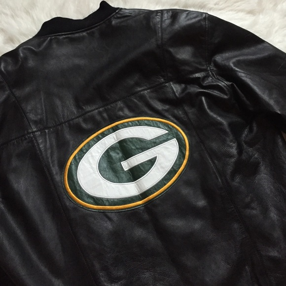 8ccfbdbf Green Bay Packers Leather Jacket