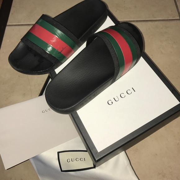 515c9ebc3524b Gucci Shoes - AUTHENTIC GUCCI SLIDES