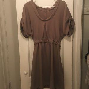 Rachel Comey Dresses & Skirts - Rachel Comey tan belted dress