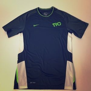 Nike T90 Dri Fit Mens workout shirt Size Small