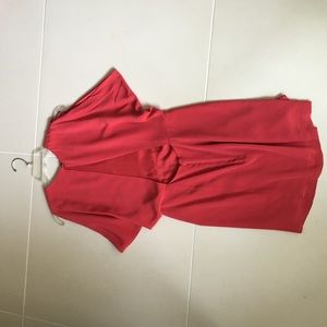 Wren Dresses & Skirts - Red dress with open back