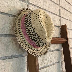 Summer Straw Hat Fedora GAP Natural
