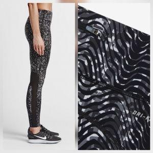 Nike Pants - Nike Epic Lux Sidewinder Tights Legging Pants