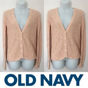 Old Navy Sweaters - 🍍CLEARANCE🍍 Old Navy Salmon Knit Button Cardigan