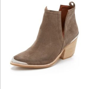 Jeffrey Campbell Shoes - Jeffrey Campbell Cromwell Booties Taupe
