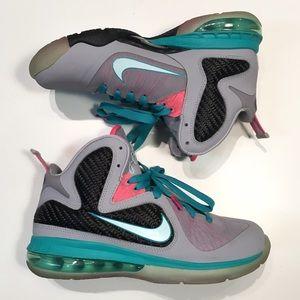 Nike Shoes - Nike Lebron 9 South Beach
