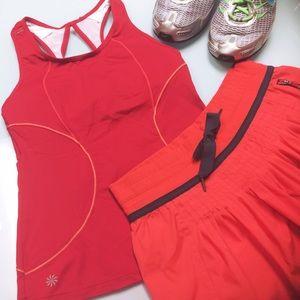 Athleta Energy Tank in Red