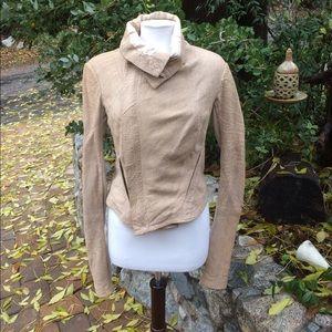 Twin-Set Jackets & Blazers - Twin-Set Simona Barbieri leather ladies jacket