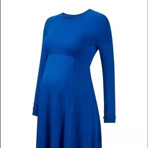Isabella Oliver Dresses & Skirts - Navy Isabella Oliver Danbury Maternity Dress