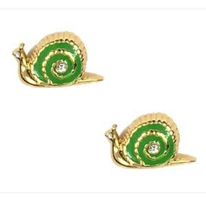 kate spade Jewelry - Kate Spade snail earrings