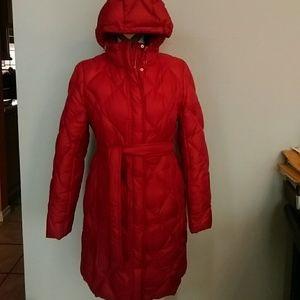 Eddie Bauer Jackets & Blazers - Eddie Bauer Premium Quality Goose down RED Coat
