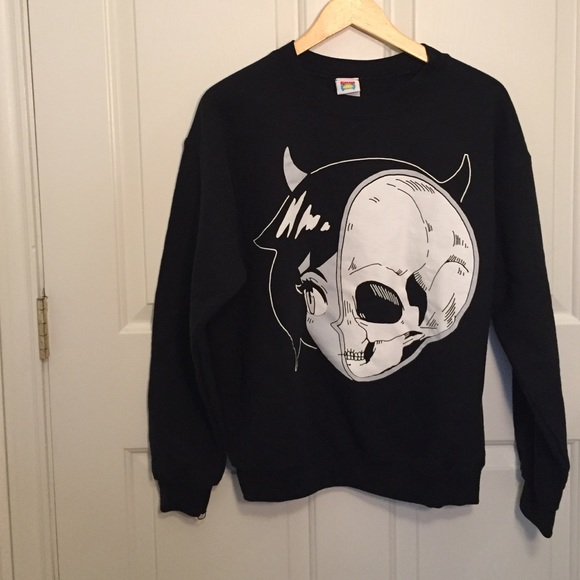 3d3f40b9c9 SKULLGIRL anime sweater by Omocat. M_5875433f713fdec175015137. Other Sweaters  you may like
