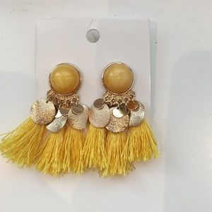 H&M Jewelry - H&M Fringe Earrings