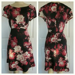 connected Apparel  Dresses & Skirts - Connected Floral Empire Dress Size 12