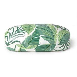 Stella & Dot Accessories - Stella & Dot Palm Print Sunglasses Case