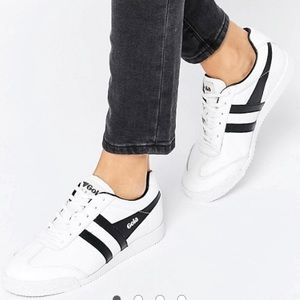 Gola Shoes - Gola Premium Leather Harrier Trainers