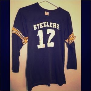 super popular 7645c 9e444 Pittsburgh Steelers Bradshaw 70s Rawlings Jersey