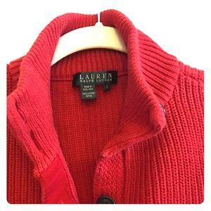 🐎LAUREN RL sweater, 100% cotton.