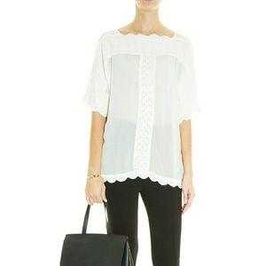 Isabel Marant Etoile Axel blouse in white 36