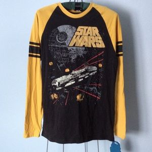 Star Wars Other - Star Wars Men's long sleeve top NWT