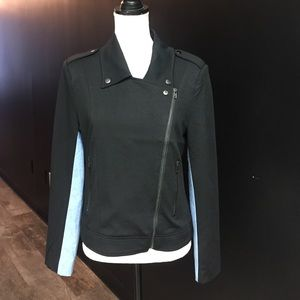 Romeo and Juliet couture jacket black denim top