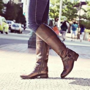 Frye Shoes - FRYE HARNESS MELISSA TALL BOOTS