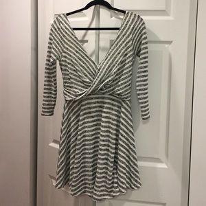 Free People Dresses & Skirts - Free People Striped Marled Dress - S