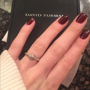 8d8c7843b8067c David Yurman Jewelry - David Yurman petite pave ring with diamonds