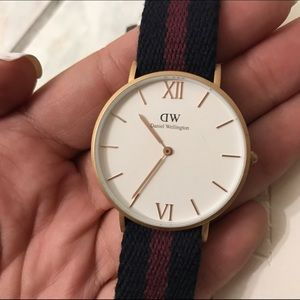 Daniel Wellington 36mm Rose Gold Classic Watch