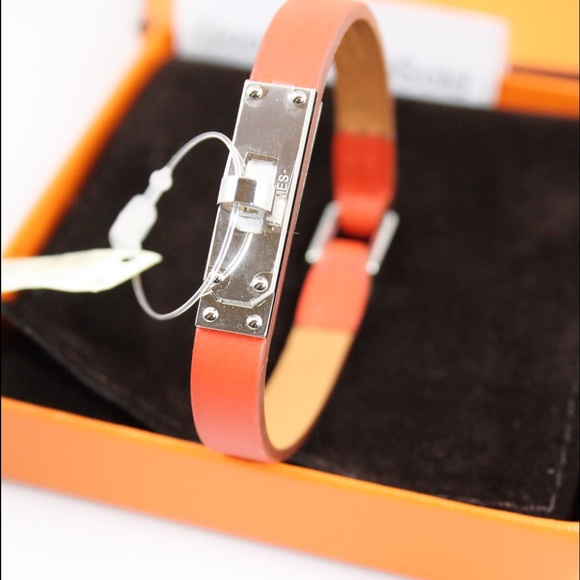 bracelet opulent jewelers hermes kelly rose gold