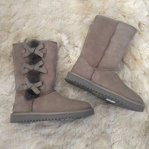UGG Shoes - New Koolaburra by UGG tall shearling bow boots 7
