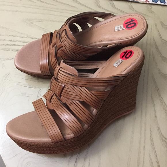 78dcd5f7999 🍂UGG 🍂 Melinda  Platform Wedge Sandal(price firm