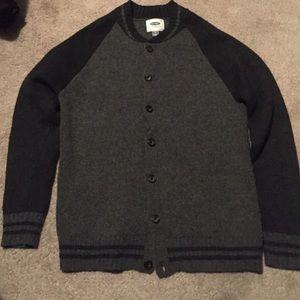 Old Navy Other - Men's varsity jacket style cardigan