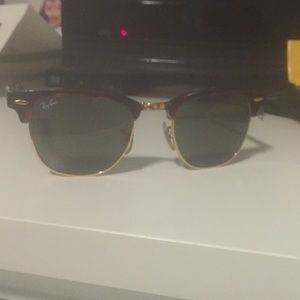 Ray-Ban Accessories - Lightly used club master ray bans