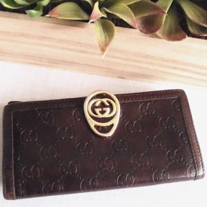 Host PickGucci Guccissima Leather Wallet