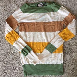 L.A.M.B. Sweaters - Striped L.A.M.B. Sweater