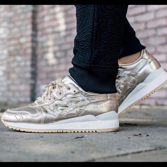 d72ca5b2622b Asics Shoes - LIMITED EDITION ASICS GEL LYTE III CHAMPAGNE GOLD