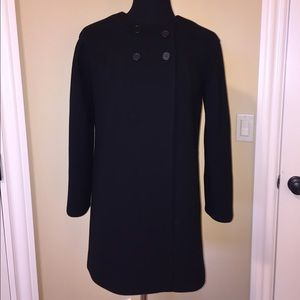 J. Crew Double Cloth Wool Coat