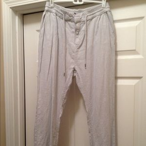 Divided by H&M women's size 8 linen pants