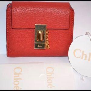 Chloe Drew Square Wallet