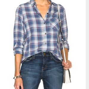 Current/Elliot shirt in plaid