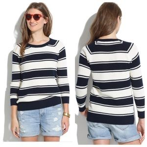 Madewell Sweaters - Madewell bridgeview pullover in stripe sweater