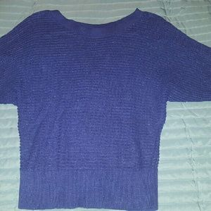 69% off David Wayne Sweaters - Sparkly blue sweater! from .megan's ...