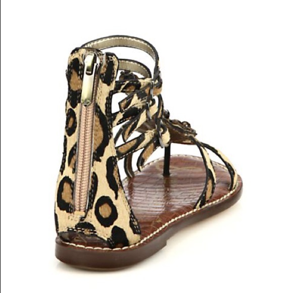 db7be83ce Women s Sam Edelman Giada Leopard Beaded Sandal 8.  M 587575c32fd0b7c42117bfe0