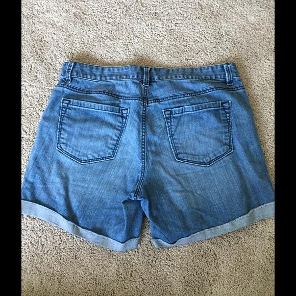 LOFT Shorts - LOFT denim shorts with cuffs.