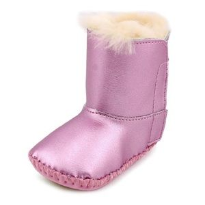 "UGG Other - ""Cassie"" Metallic Pink Ugg Boots"