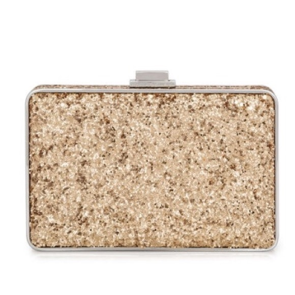 henri bendel Bags | Sparkly Gold Purse Party
