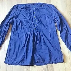 Hartford Tops - Hartford Size XL Navy Blue Tunic